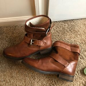Tan Aldo Boots